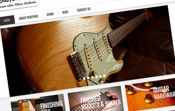 Wudtone Custom Guitar Finishes
