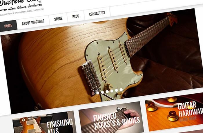 Wudtone Custom Guitar Finishes
