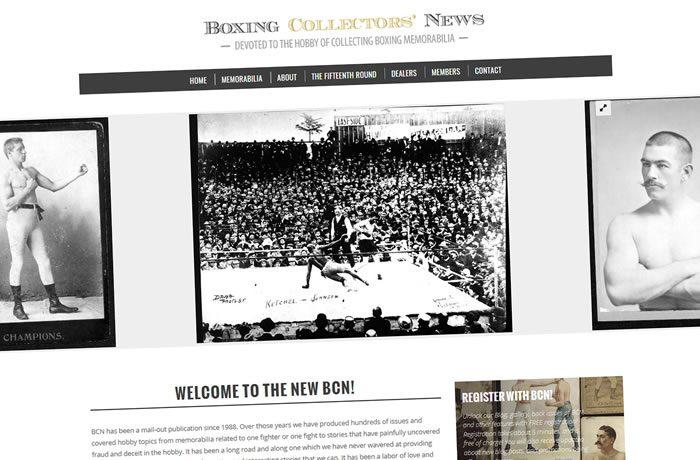 Boxing Collectors' News